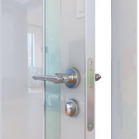 Двери шумоизоляционные глянцевые ДО-607 шумоизоляционная дверь глянцевая с алюминиевой кромкой