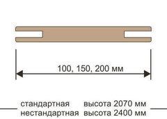 Добор телескоп 2070*100*10 Версаль