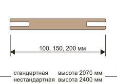 Добор телескоп 100*10 Eco-Light/UniLine