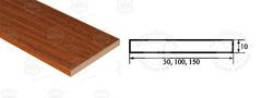 Доборная планка стандарт 10х150х2070 мм ЧФД