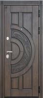 Двери Regidoors Металлическая дверь Атлант Golden + чёрная патина