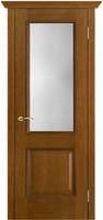 Двери Vist (Вист) Дверь Шервуд античный дуб тон 14 стекло классик