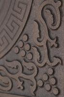 Двери Regidoors Металлическая дверь Италия винорит тёмный дуб+чёрная патина