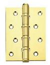 Петли усиленные универсальные 100х75х3 золото
