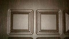Двери Regidoors Металлическая дверь Сенатор 3D Марсель венге