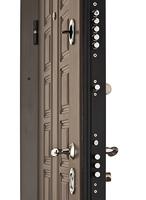 Двери Regidoors Металлическая дверь Сенатор стандарт тёмный орех
