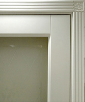 Двери регионов Дверь межкомнатная Турин белая эмаль, лак, стекло Италия