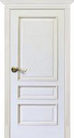 Двери Vist (Вист) Белорусские двери Вена глухая белая патина тон 17