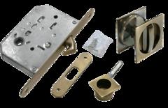 Фурнитура для раздвижных дверей Ручка для раздвижных дверей MHS-2 WC(комплект) Morelli