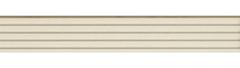 Наличник фигурный телескопический 2200х100х8. Длинна клюва 15 мм Florence Stile