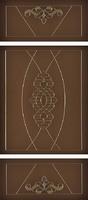 Коллекция Elegante classico Дверь Regidoors Мадрид ДО Витраж