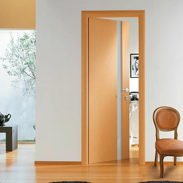 Двери и плинтуса одного цвета